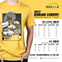 Beetle Durian Convoy 2017 Shirt