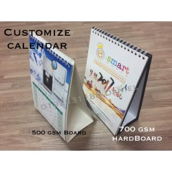 Customize Calendar 2018