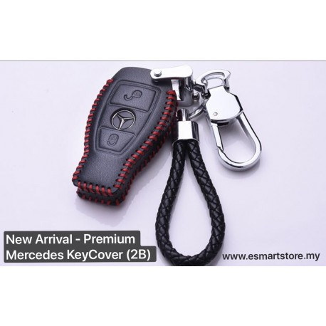 Mercedes Benz Premium Key Chain Cover - 2 Button FULL