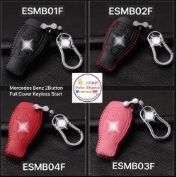 Mercedes Benz Key Cover 2 Button