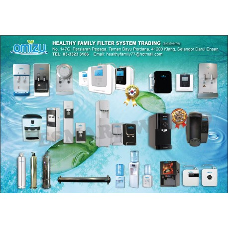 [WATER FILTER] HEALTHY FAMILY FILTER SYSTEM TRADING 03-33233186