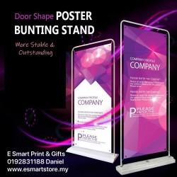 Door Shape Poster Bunting Stand
