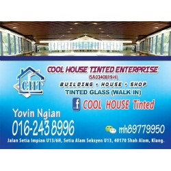 [HOME] COOL HOUSE TINTED ENTERPRISE 016 243 8996