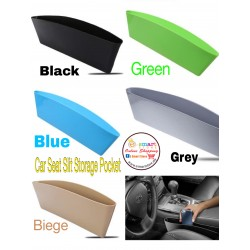 CAR SEAT SLIT POCKET STORAGE BOX